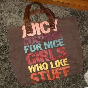 •JUICY COUTURE BAG•